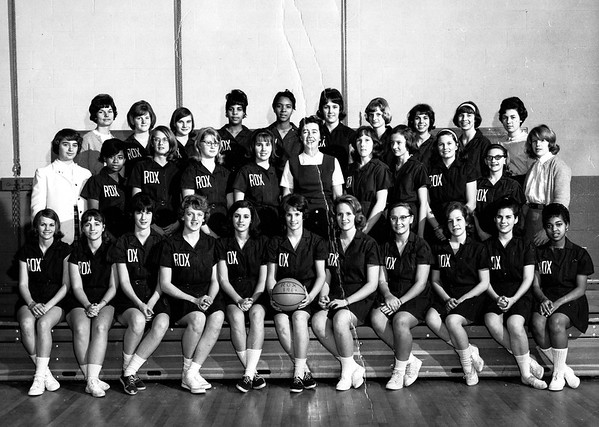 1965 Girls basketball