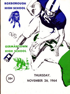 1964 Germantown Game Program