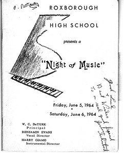1964 Night of Music choir