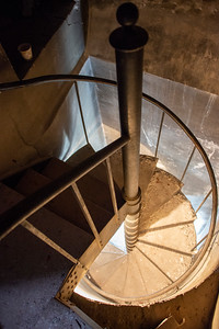 Spiral staircase to the top of the dome, 200 steps
