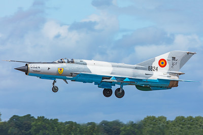Romanian Air Force Mikoyan-Gurevich MiG-21MF 6824 7-20-19 3