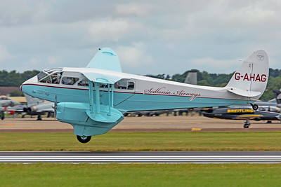Scillonia Airways de Havilland DH 89 Dragon Rapide G-AHAG 7-20-19
