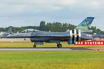 Belgian Air Force General Dynamics F-16AM FA-57 7-20-19 3