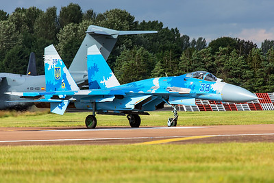 Ukraine Air Force Sukhoi Su-27 39 7-20-19 7