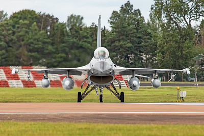 Danish Air Force General Dynamics F-16BM ET-197 7-20-19