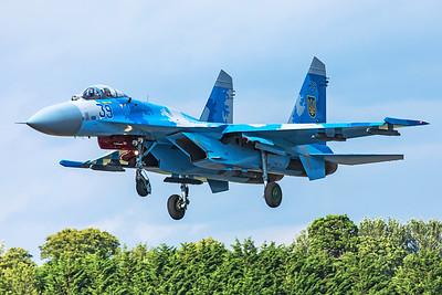 Ukraine Air Force Sukhoi Su-27 39 7-20-19 5