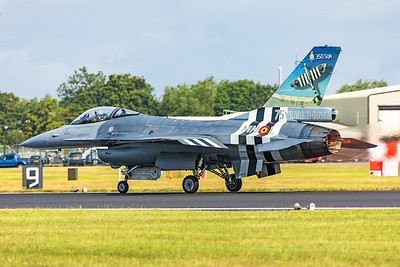 Belgium Air Force General Dynamics F-16AM FA-57 7-20-19 2