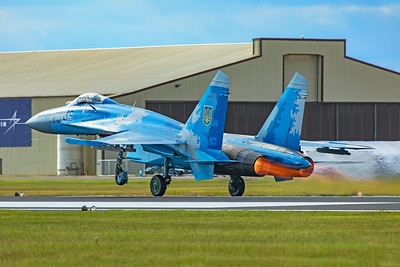 Ukraine Air Force Sukhoi Su-27 39 7-20-19