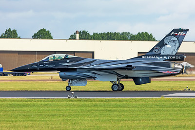 Belgian Air Force General Dynamics F-16AM FA-101 7-20-19 3