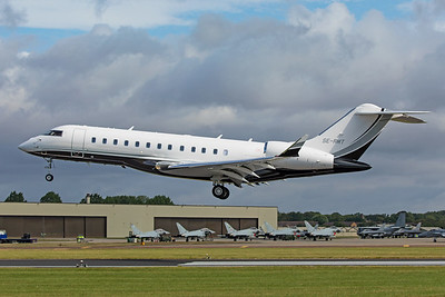 SEB Bank Bombardier BD-700-1A10 Global 6000 SE-RMT 7-20-19