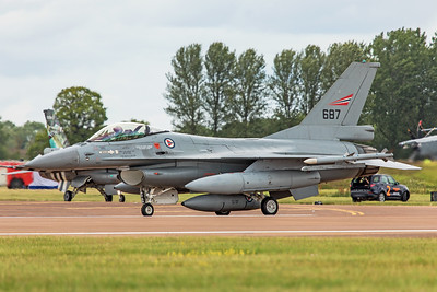 Royal Norwegian Air Force General Dynamics F-16AM 687 7-20-19