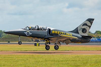 Breitling Jet Team Aero L-39C ES-YLF 7-20-19