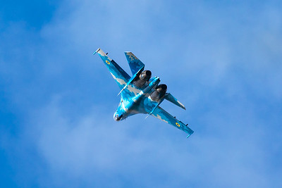 Ukraine Air Force Sukhoi Su-27 39 7-20-19 2