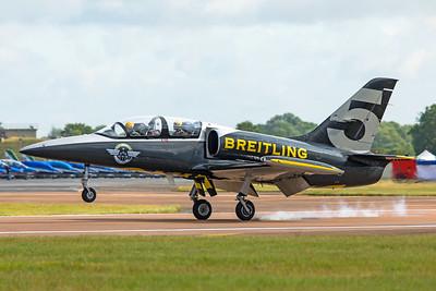 Breitling Jet Team Aero L-39C ES-TLF 7-20-19