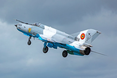 Romanian Air Force Mikoyan-Gurevich MiG-21MF 6824 7-20-19