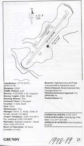 GRUNDY, GRUNDY MUNICIPAL AIRPORT (GDY), 1998-1999