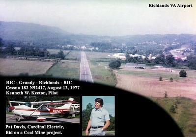 RIC-Grundy-Richlands-RIC.....Flight in Virginia