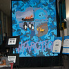 Banners created by Cranston High West Art Students