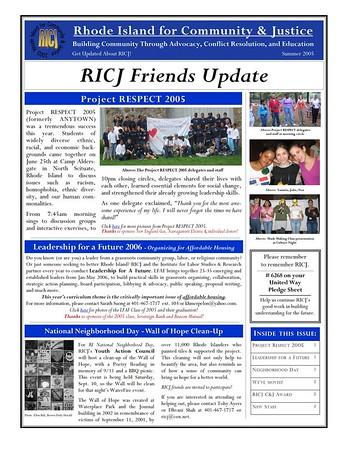 RICJ News
