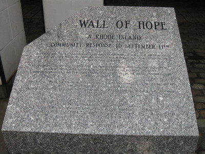2009 Wall of Hope Remembrance