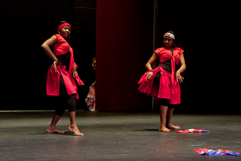 A Haitian Dance performed by Rose and Virgina Albert.