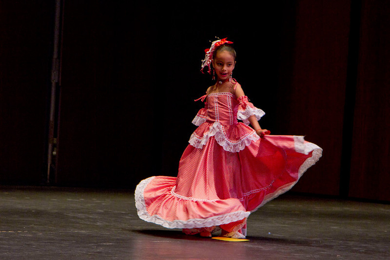 Colombian Folkloric Dance by members of the Sociedad Sociedad-Cultural Colombo Americana.