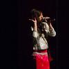 "Davina Phouthakoun performing a Laotian song called ""Lum See Phun Don""."