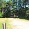 The bus arrives at camp!