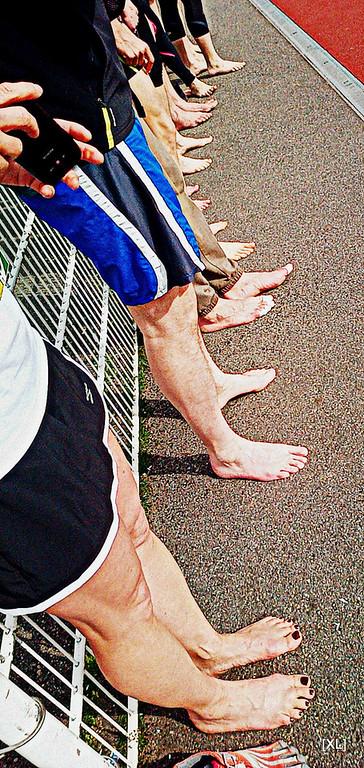 Barefoot running & Marche pieds nus