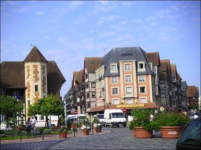 Deauville ensablée (07/2005)