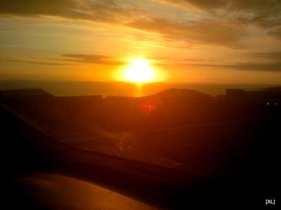 6/ coucher de soleil sur les Bas