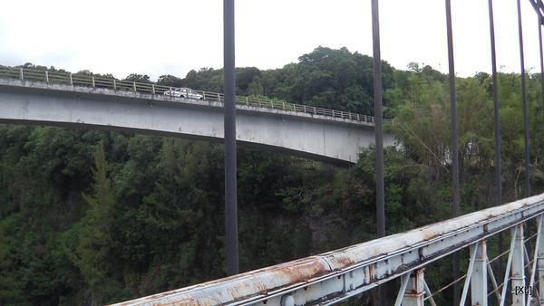 14/ pont suspendu de la Rivière de l'Est
