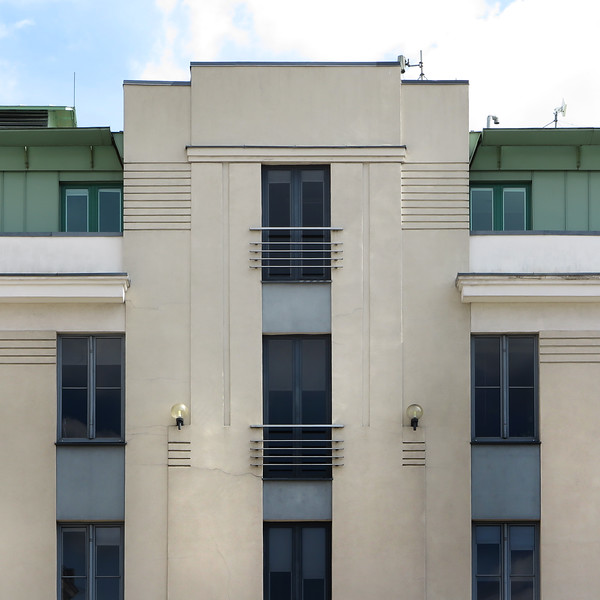 1930-s functionalism, Riga Central Market district