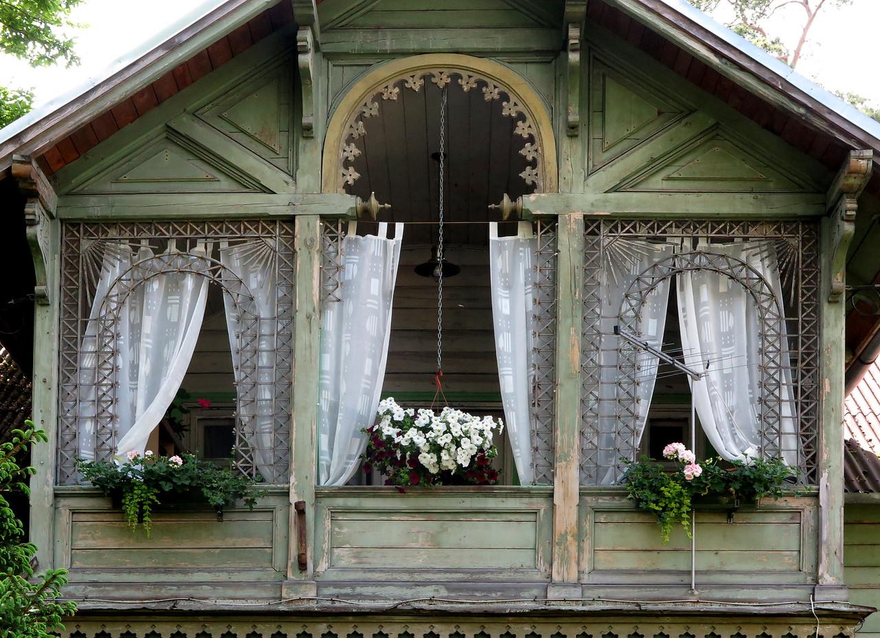 An old summer house in Jurmala