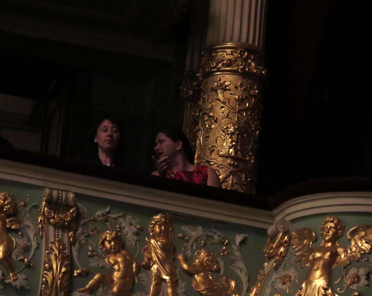 A balcony stall, Latvian Opera House, Riga