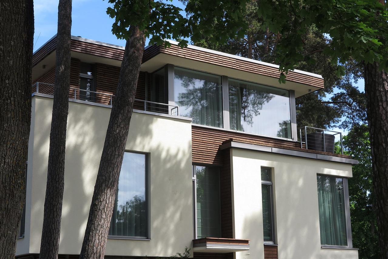 A modern summer house for sale in Jurmala