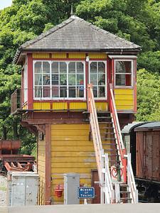 Bolton Abbey West Signal Box