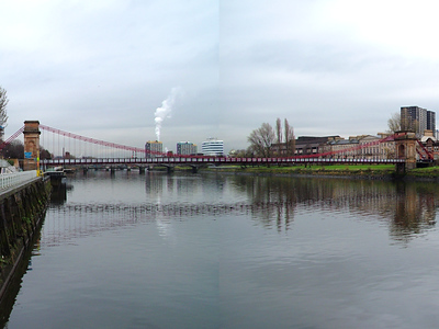 Clyde Suspension Bridge