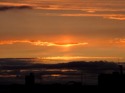 Glasgow Sunset 2