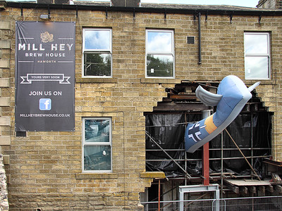 Mill Hey Brew House Plane Crash