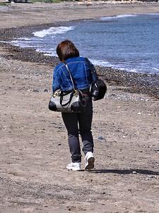 A Stroll On The Beach
