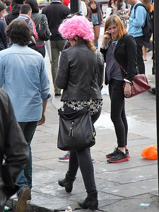 Pink Wig