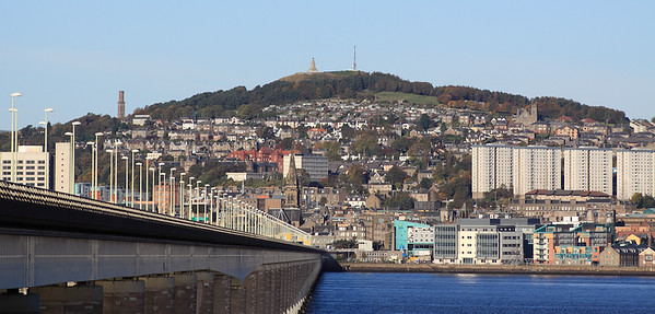 Dundee Law and Tay Road Bridge