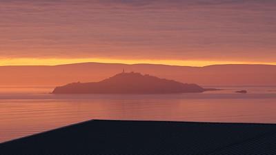 Inchkeith At Sunrise