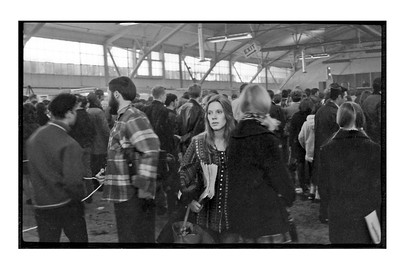 Stormy Selling Rising Up Angry at Car Show, Navy Pier, Chicago cira 1969