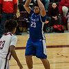 Leominster's Dylan Ranno Tanner in action during the game against Fitchburg on Wednesday, February 8, 2017. SENTINEL & ENTERPRISE / Ashley Green