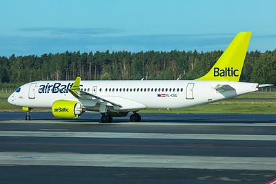 Air Baltic Airbus A220-300 YL-CSG 8-21-19