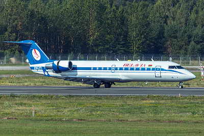 Belavia Bombardier CL-600-2B19 CRJ-200ER EW-277PJ 8-21-19