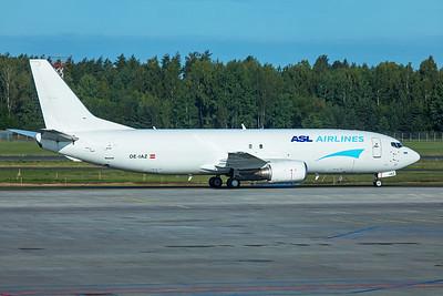 ASL Airlines Belgium Boeing 737-4Q8(SF) OE-IAZ 8-21-19