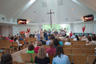 Confirmation 2015 at Rejoice Lutheran Church in Coppell